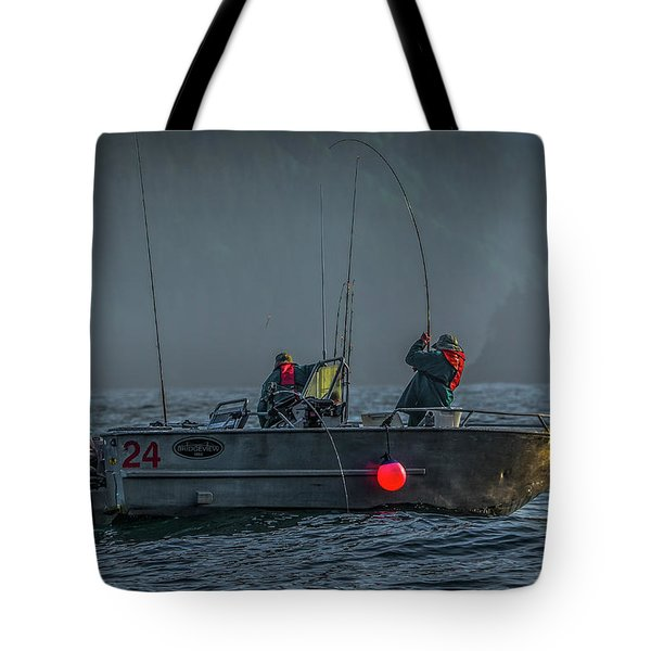 Morning Catch Tote Bag