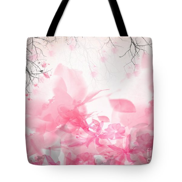 Morning Chirp Tote Bag by Trilby Cole