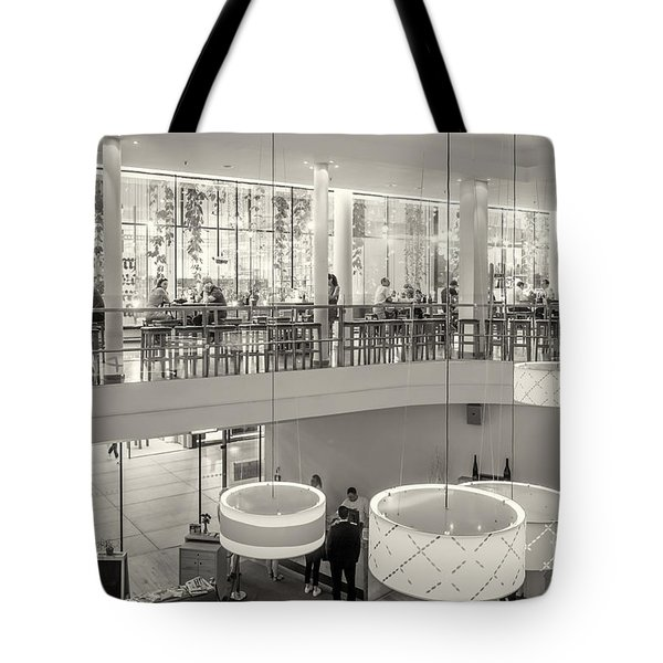 Morning Coffeetime In Munich Tote Bag