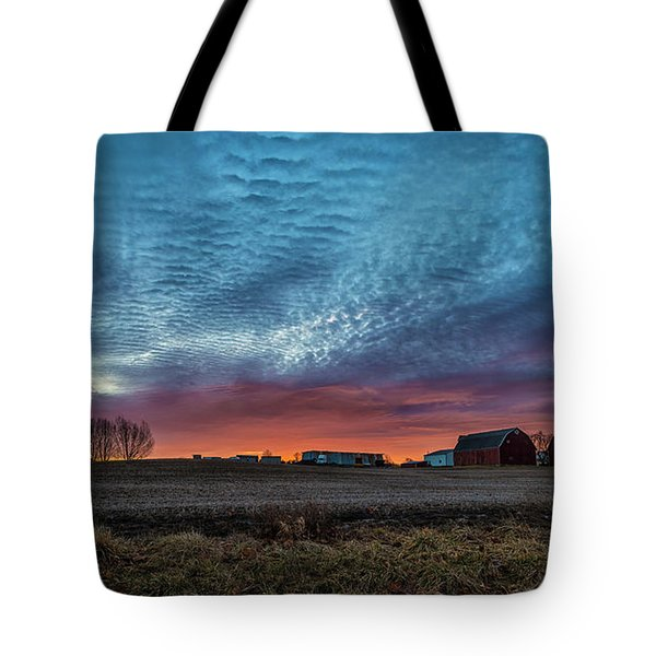 Morning Color Tote Bag