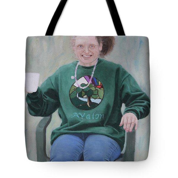 Morning Cuppa Tote Bag