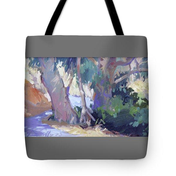 Morning Dance - Catalina Island Tote Bag