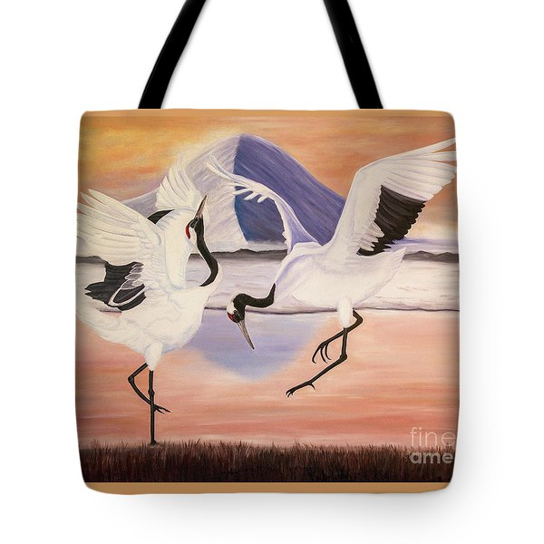 Morning Dance Tote Bag by Jane Axman