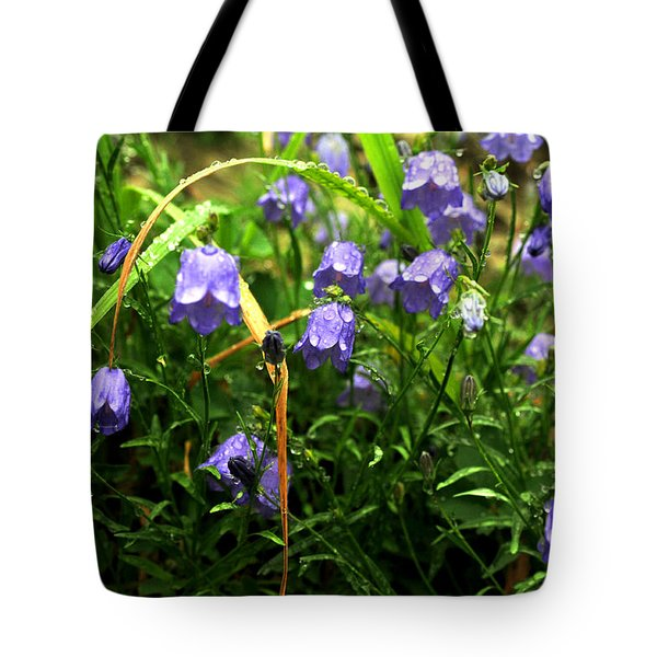 Morning Dew Tote Bag by Rebecca Parker