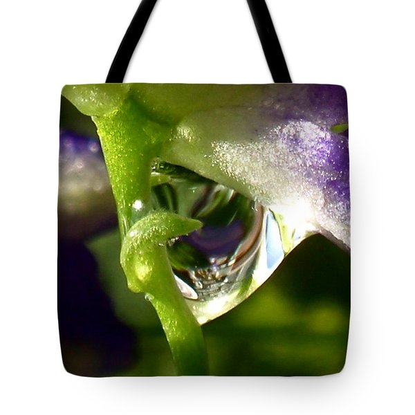 Morning Dew Tote Bag by Rona Black