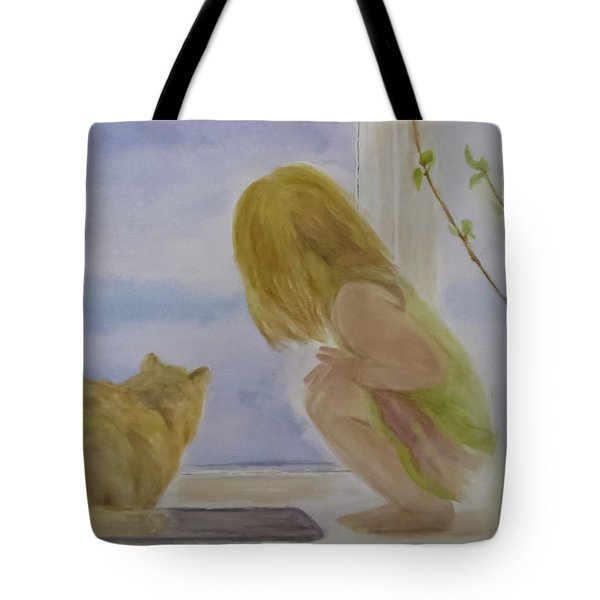 Morning Discover Tote Bag