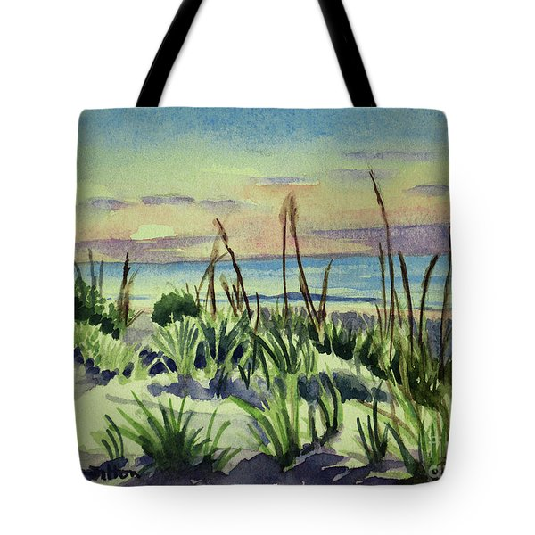 Morning Dunes  7-7-2017 Tote Bag