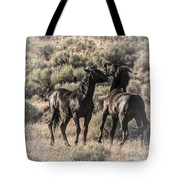Morning Dust Up Tote Bag