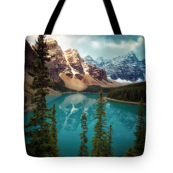 Morning Eruption  Tote Bag by Nicki Frates