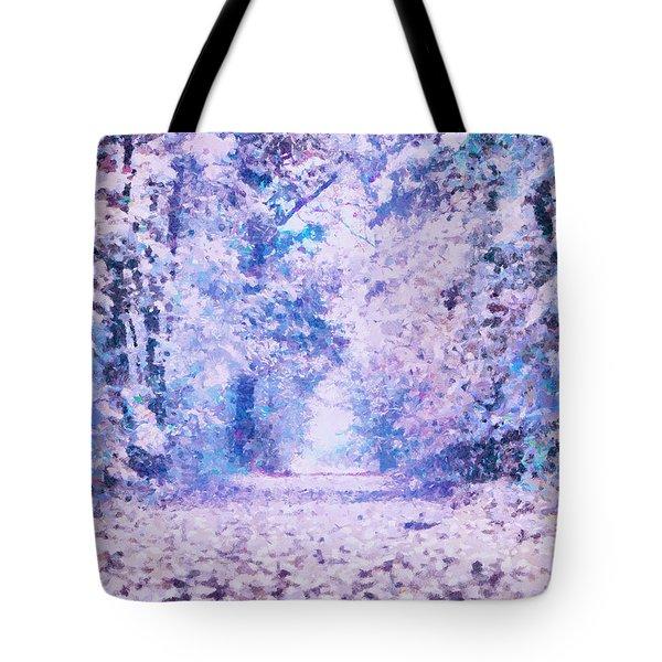 Morning Fantasy Forest Impressions Tote Bag