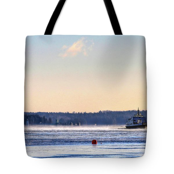 Morning Ferry Tote Bag