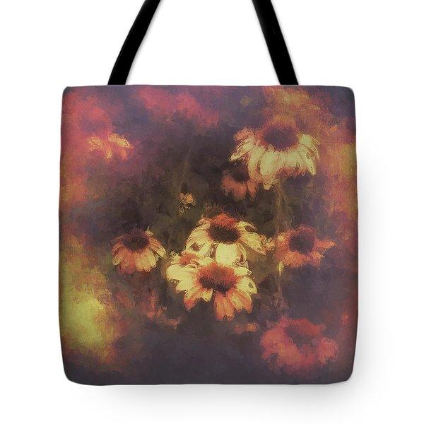 Morning Fire - Fierce Flower Beauty Tote Bag