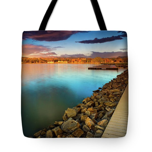 Morning Fleeting Light Tote Bag