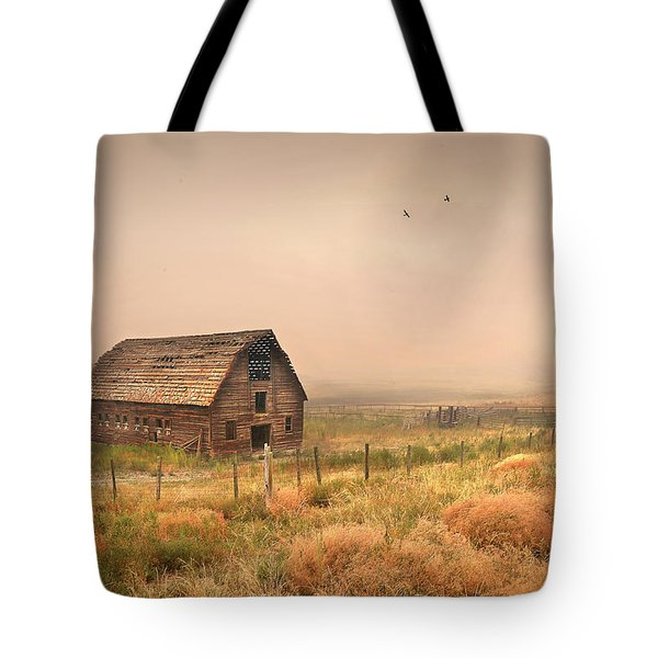 Tote Bag featuring the photograph Morning Flight by John Poon