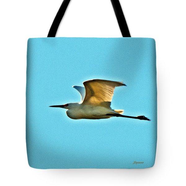 Morning Flight Tote Bag
