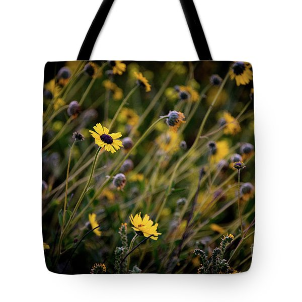 Tote Bag featuring the photograph Morning Flowers by Kelly Wade