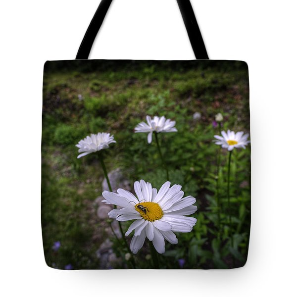 Morning Flowers Tote Bag