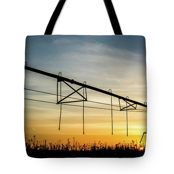 Tote Bag featuring the photograph Morning Flowers by Tyson Kinnison