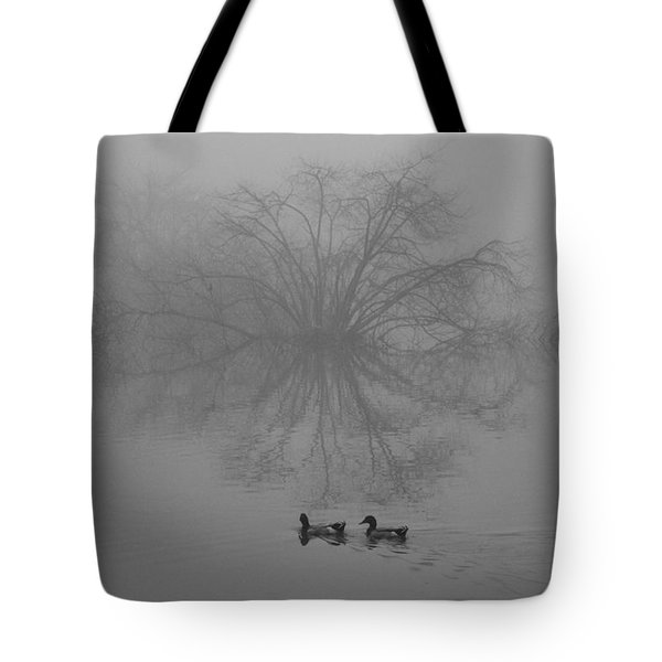 Morning Fog Tote Bag