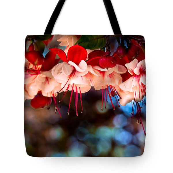 Morning Fuchsia Tote Bag