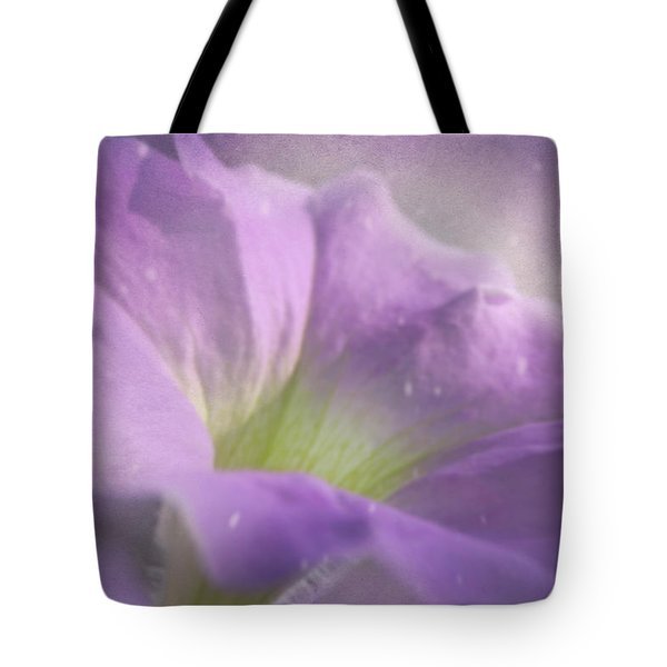 Morning Glory Tote Bag by Ann Lauwers