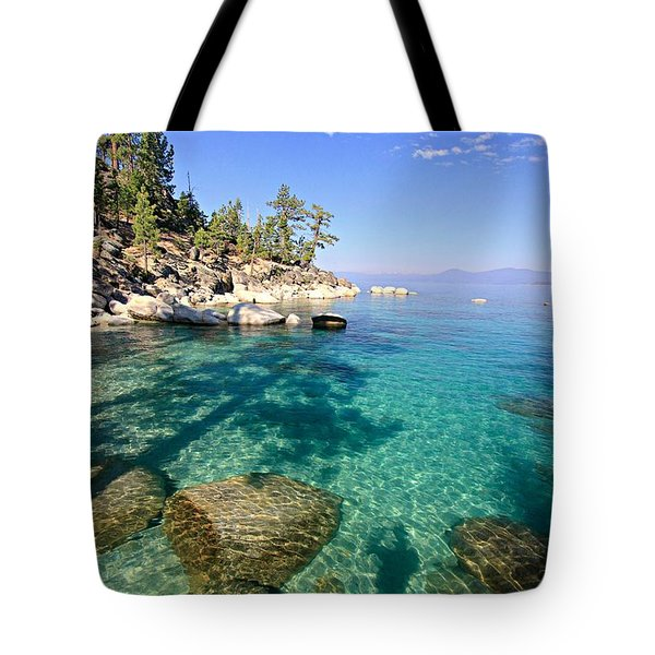 Morning Glory At The Cove Tote Bag