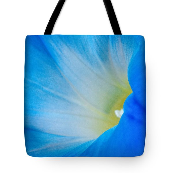 Morning Glory Tote Bag by Carolyn Dalessandro