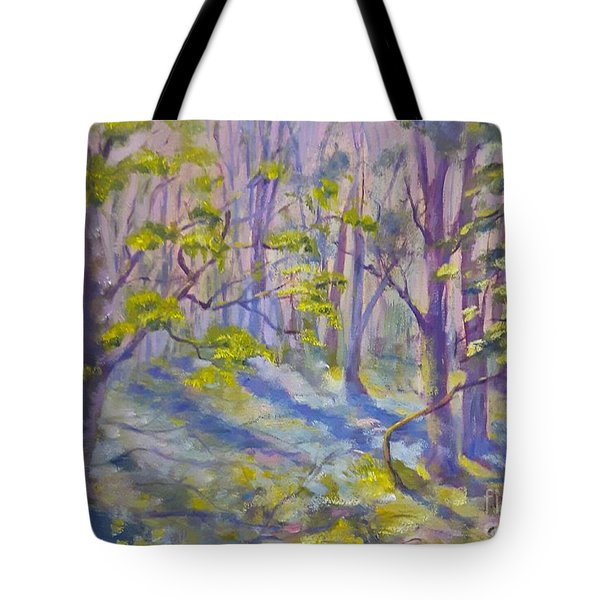 Morning Glory Tote Bag by Genevieve Brown