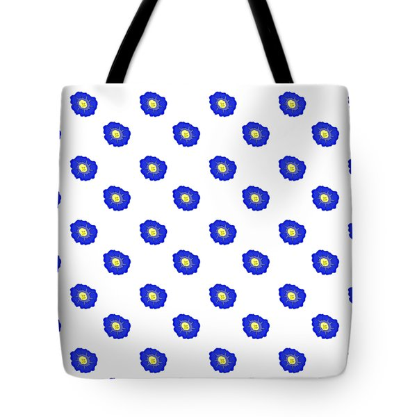 Morning Glory Pattern Tote Bag