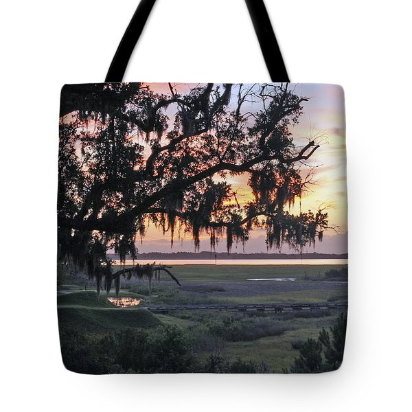 Morning Glory Tote Bag by Phill Doherty