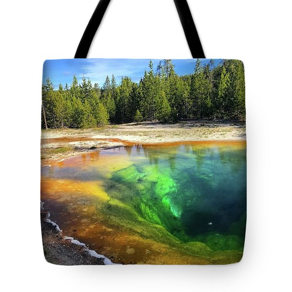 Morning Glory Pool Tote Bag