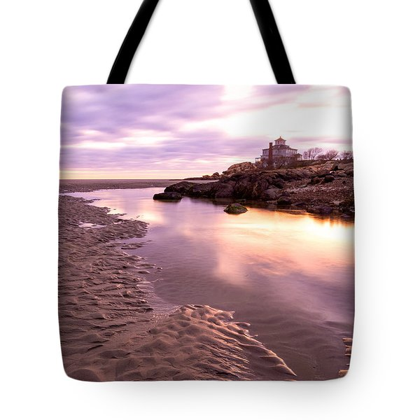 Morning Glow Good Harbor Tote Bag