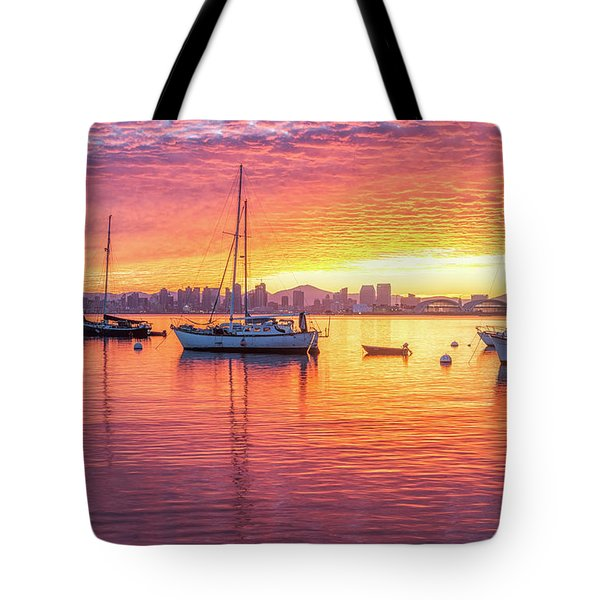 Morning Glow Tote Bag by Joseph S Giacalone