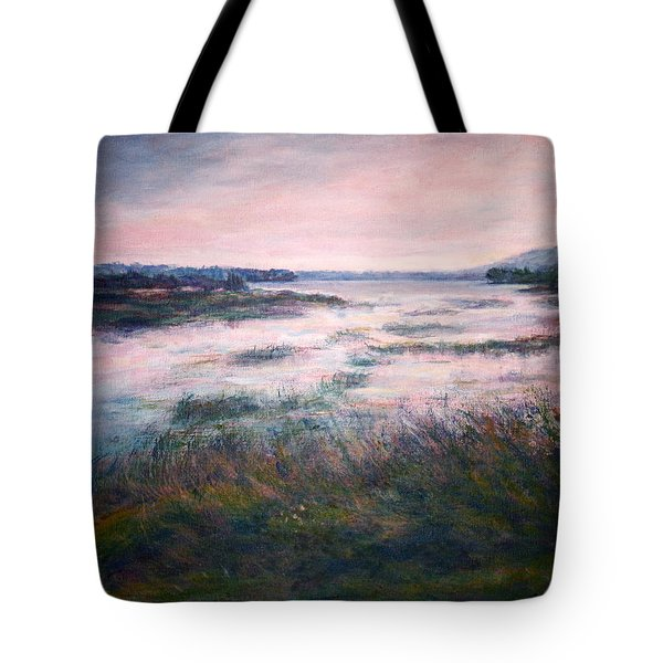 Morning Glow Tote Bag by Quin Sweetman