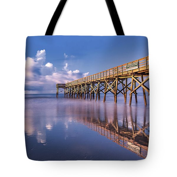 Morning Gold - Isle Of Palms, Sc Tote Bag