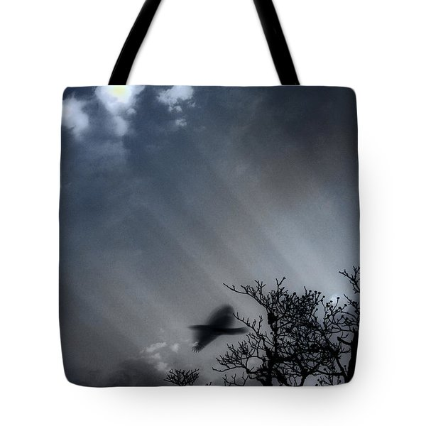 Tote Bag featuring the photograph Morning  by Gray  Artus