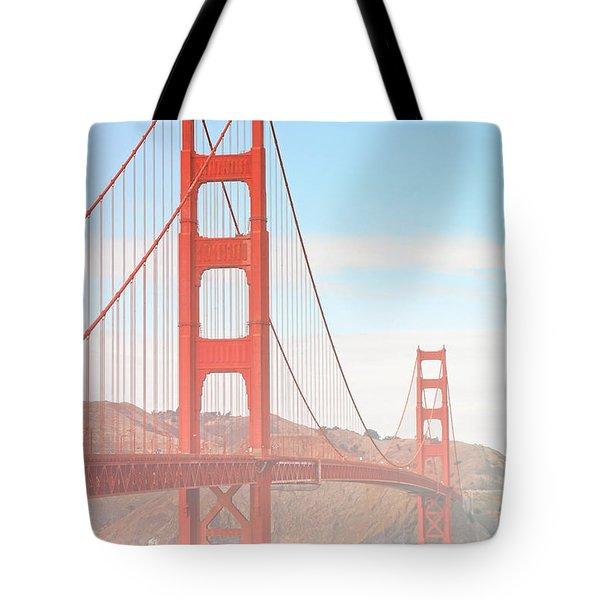Morning Has Broken - Golden Gate Bridge San Francisco Tote Bag