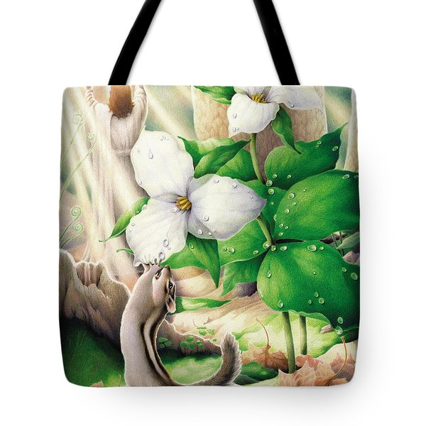 Morning Has Broken Tote Bag by Amy S Turner