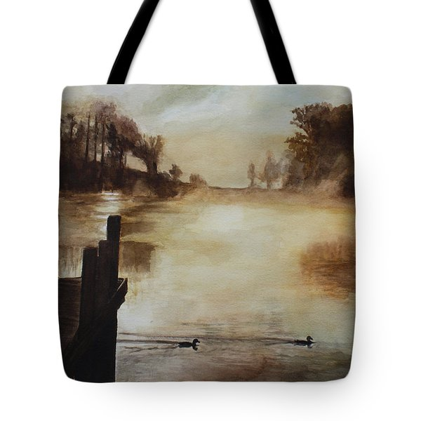 Morning Has Broken Tote Bag by Rachel Hames