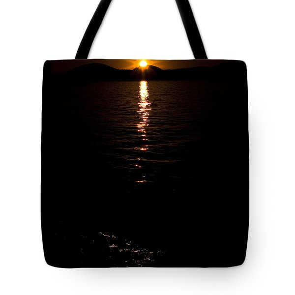 Tote Bag featuring the photograph Morning Has Broken by Tamyra Ayles