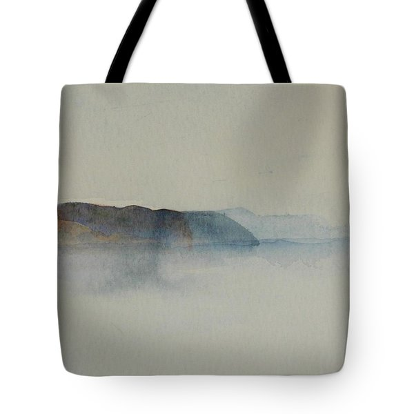 Morning Haze In The Swedish Archipelago On The Westcoast.2 Up To 28 X 28 Tote Bag