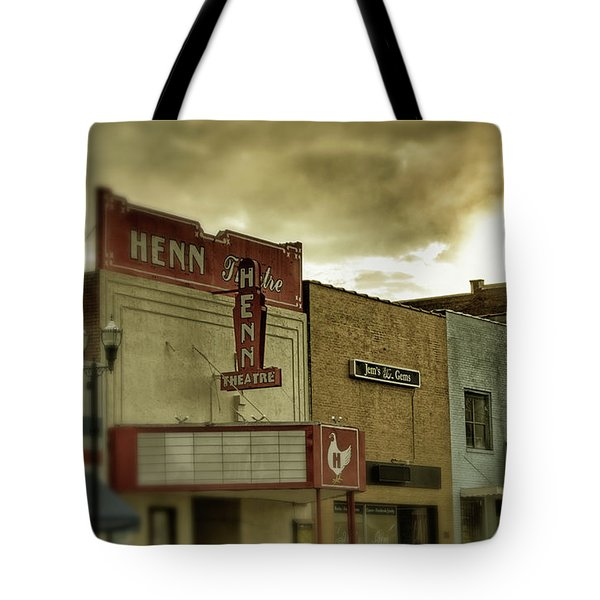 Morning Henn Tote Bag by Greg Mimbs