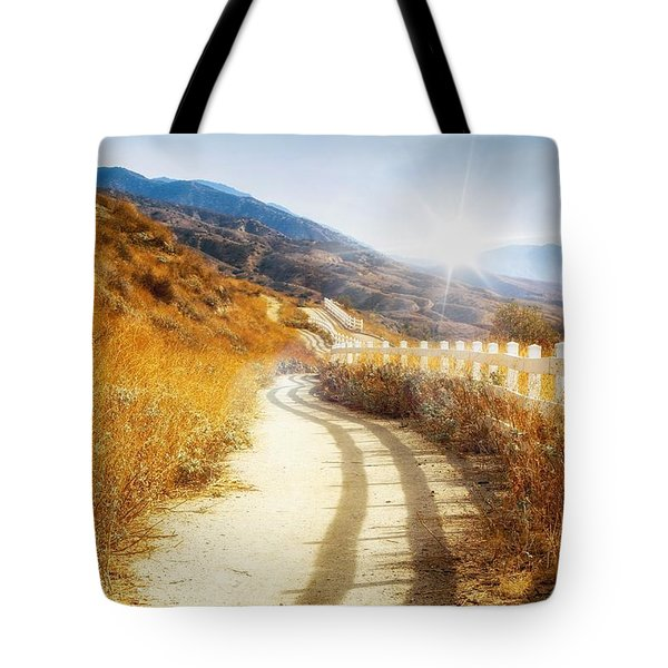 Morning Hike Tote Bag