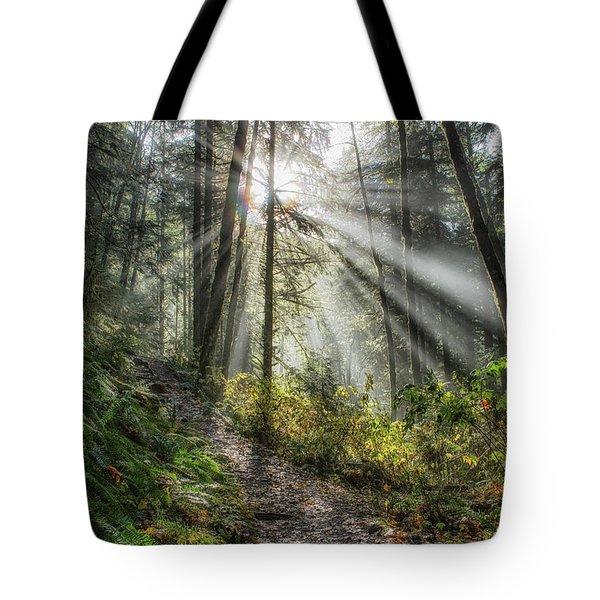 Morning Hike Tote Bag