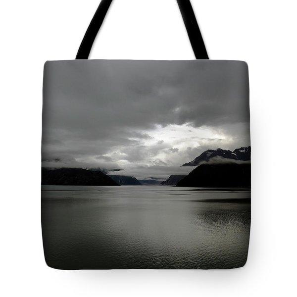 Morning In Alaska Tote Bag