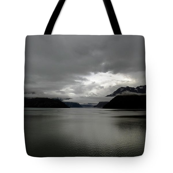 Morning In Alaska Tote Bag