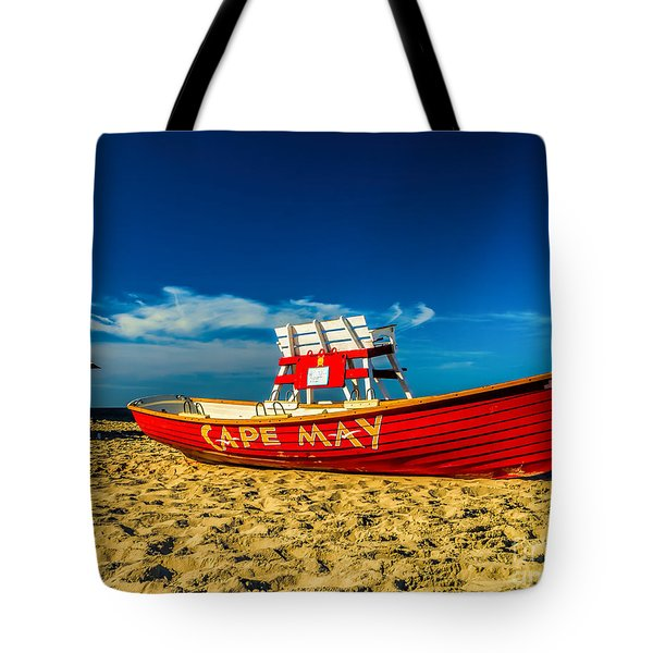 Morning In Cape May Tote Bag