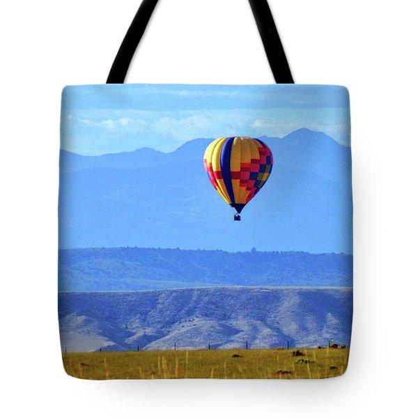 Morning In Montana Tote Bag