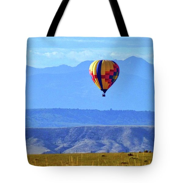 Morning In Montana Tote Bag