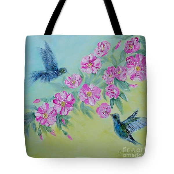 Morning In My Garden. Special Collection For Your Home Tote Bag